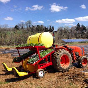 Tractor transplanter
