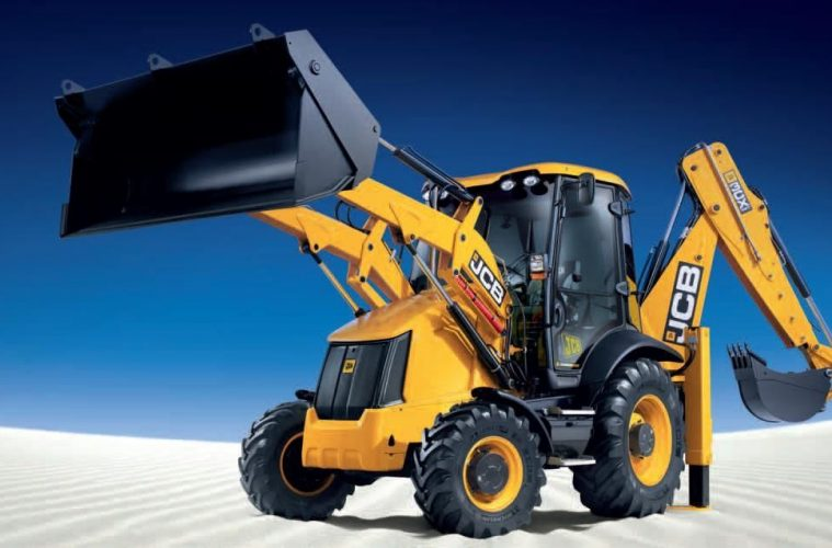 Earth moving machinery JCB