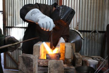Cast Iron Welder