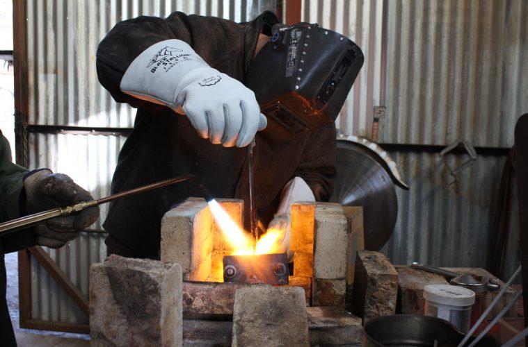 Cast Iron Welder