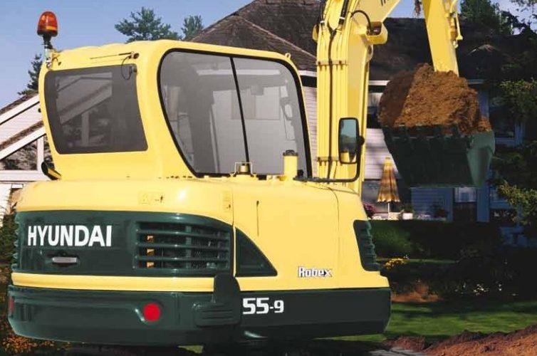 Hyundai Robex R55-9 Excavator