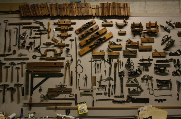 tools used in antique woodworking