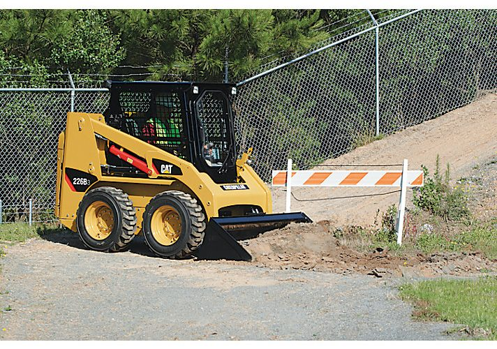 2015 Caterpillar 226B Series 3 Skin Steer Loader