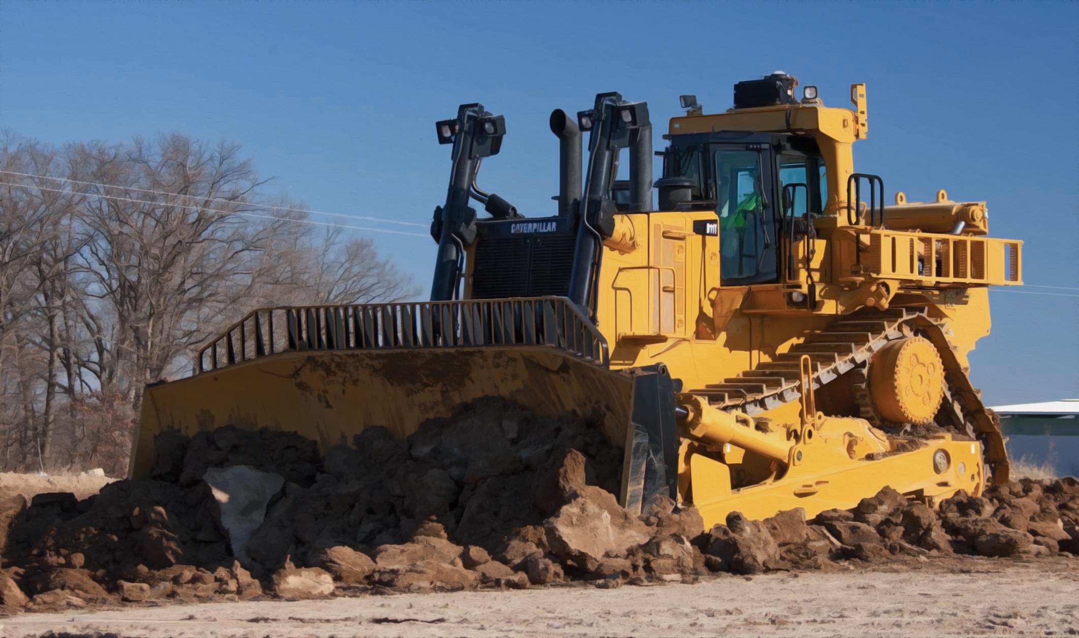 dozer data reveals the world s biggest bulldozer