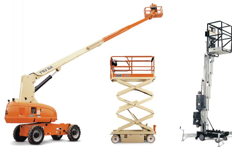 Elevated work platforms