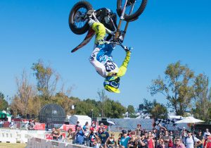 motorcross at diesel dirt and turf expo