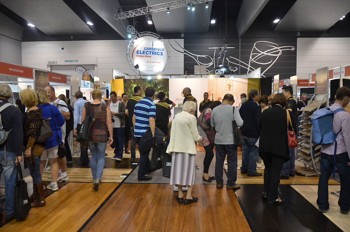 Grand Oak Flooring - Melbourne Home Show 2014