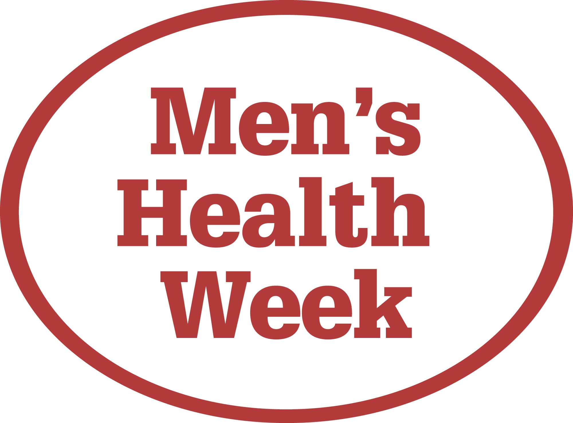 the logo for men's mental health week