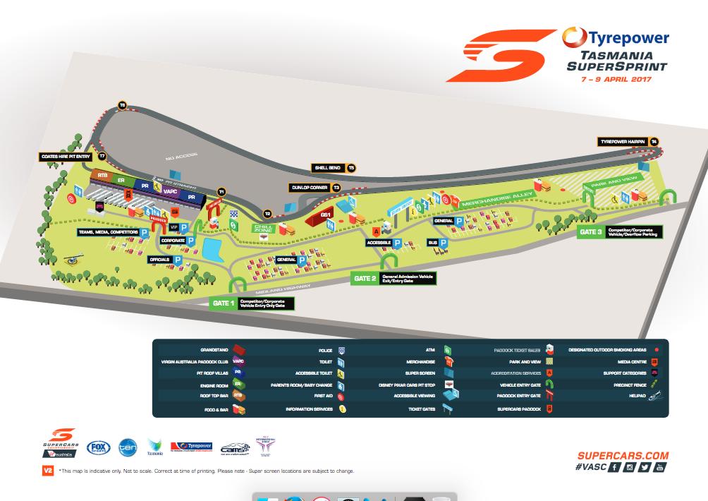 Tasmania Cupercar Circuit