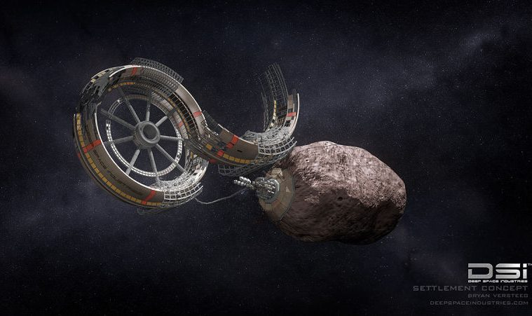 mining in space