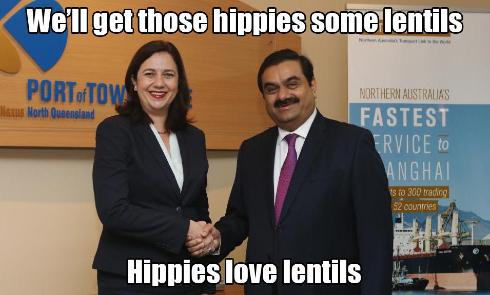 Hippes love lentils
