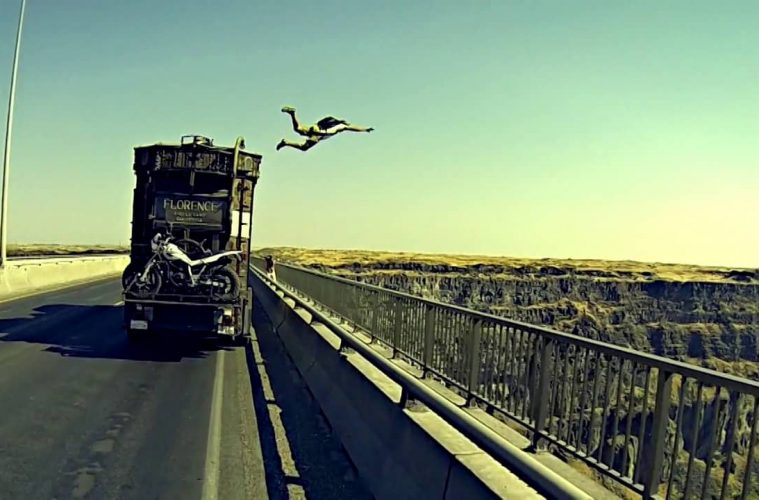 base jump from road
