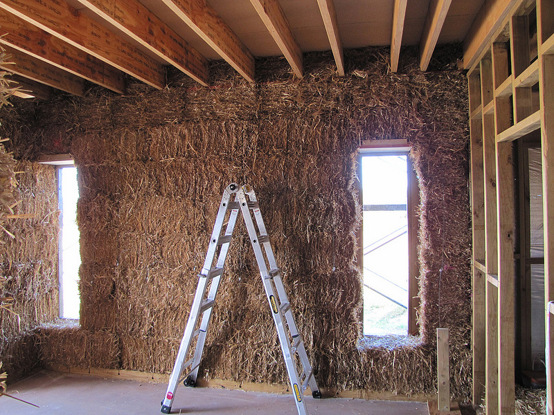 Straw Bale Walls