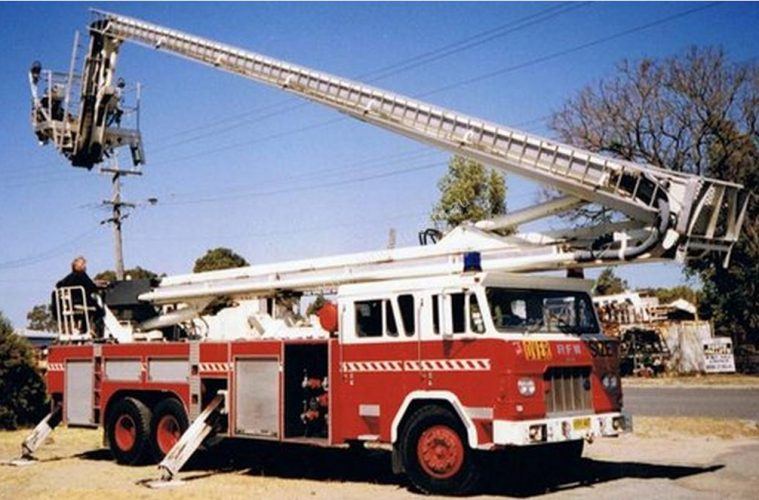 Vintage fire truck for sale on Machines4U
