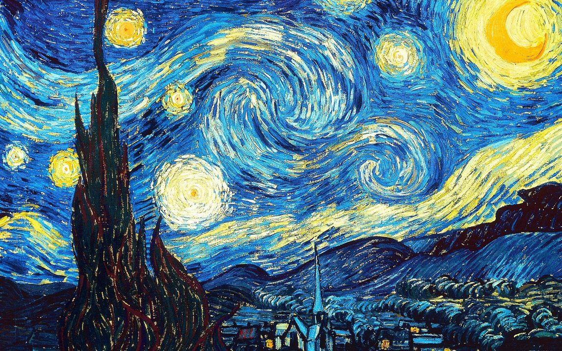 The Starry Night Van Gogh
