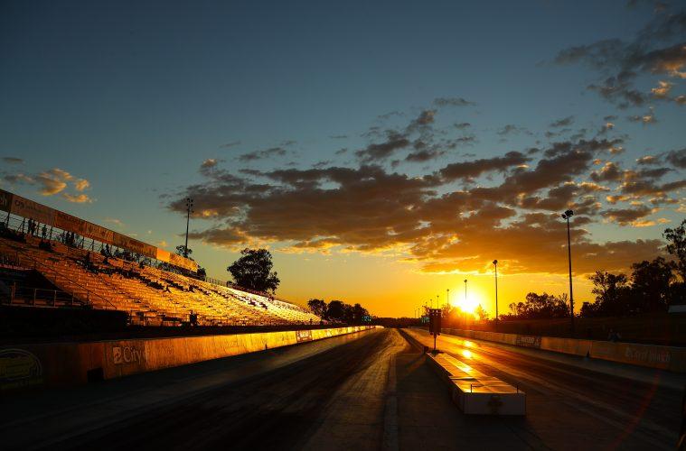 empty speedway