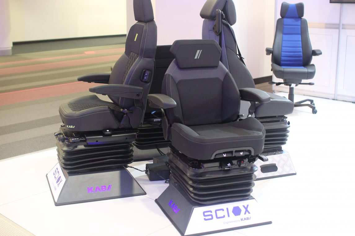Brand new sciox range air suspension seats
