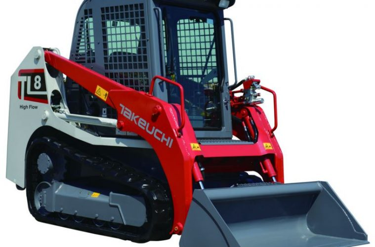 Review  2015 Takeuchi Tl8 Crawler Loader