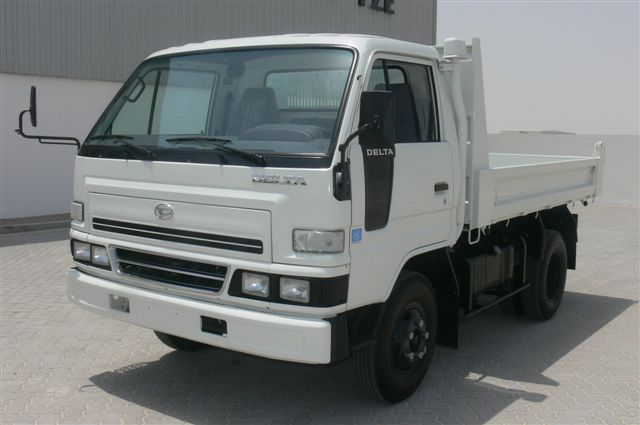 Review 1999 Daihatsu DELTA Tipper Truck