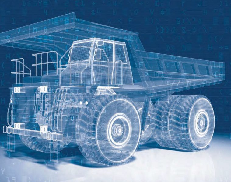 Austmine The Digital Mine dump truck