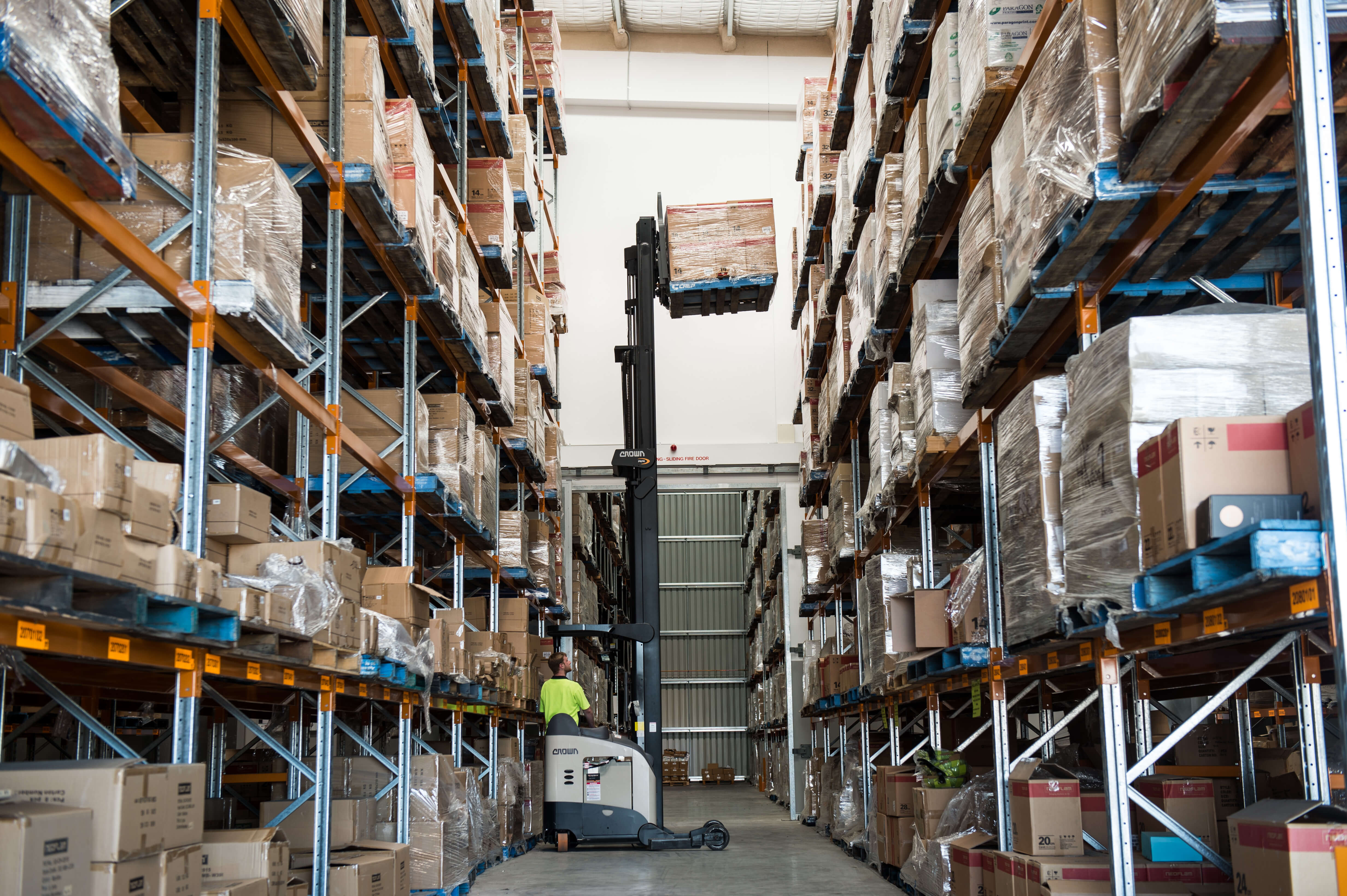 Crown Helps ACT Mailing House Boost Storage Capacity by up