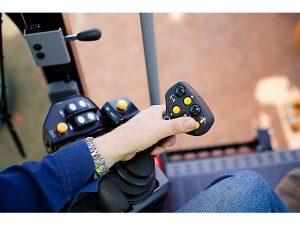 operator joystick steering