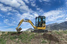 Next Generation Caterpillar mini excavators