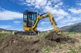 Cat 302 CR mini excavator