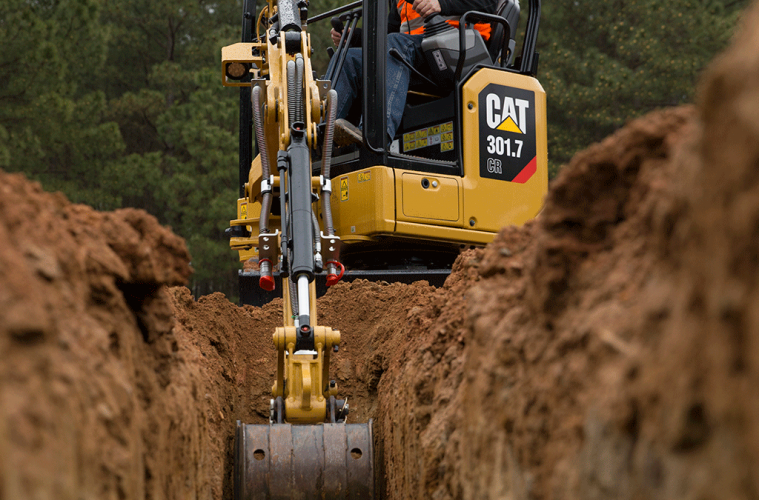 Your Guide to the Cat 301 7 CR Mini Excavator