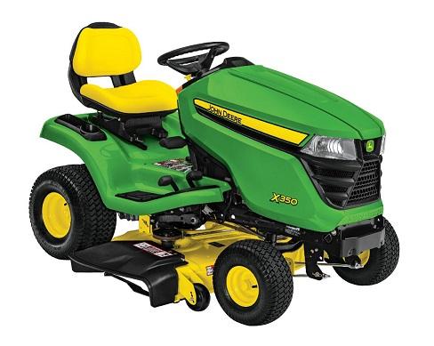John Deere mowers X350
