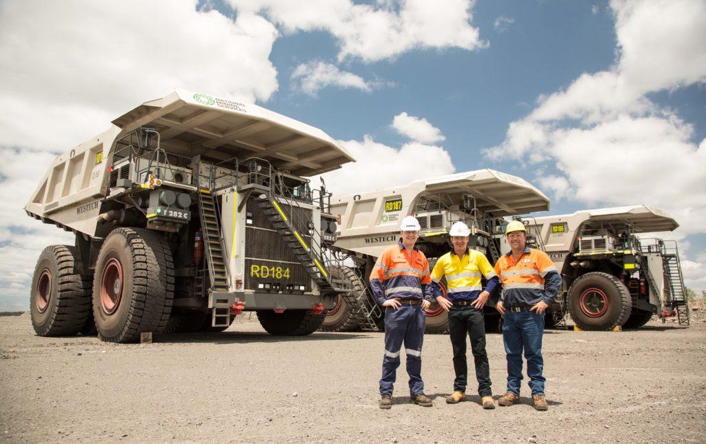Liebherr mining trucks