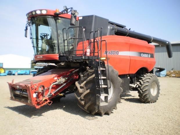 Case-IH combine harvester