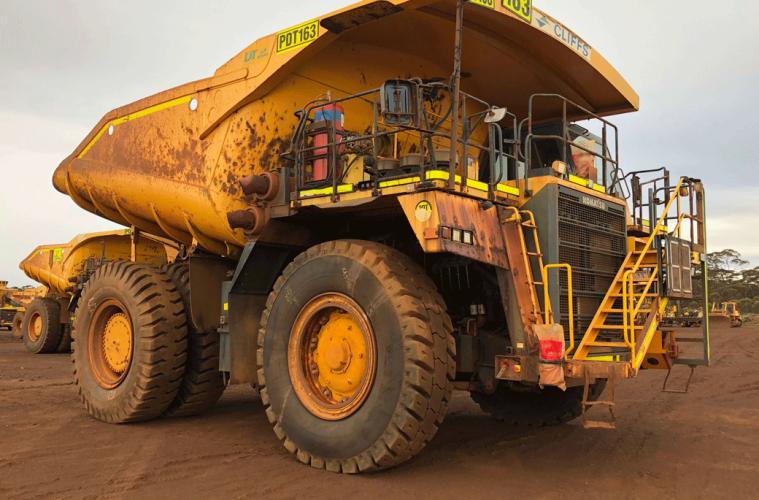 Equipment Focus: Komatsu Mining Dump Truck HD785-7