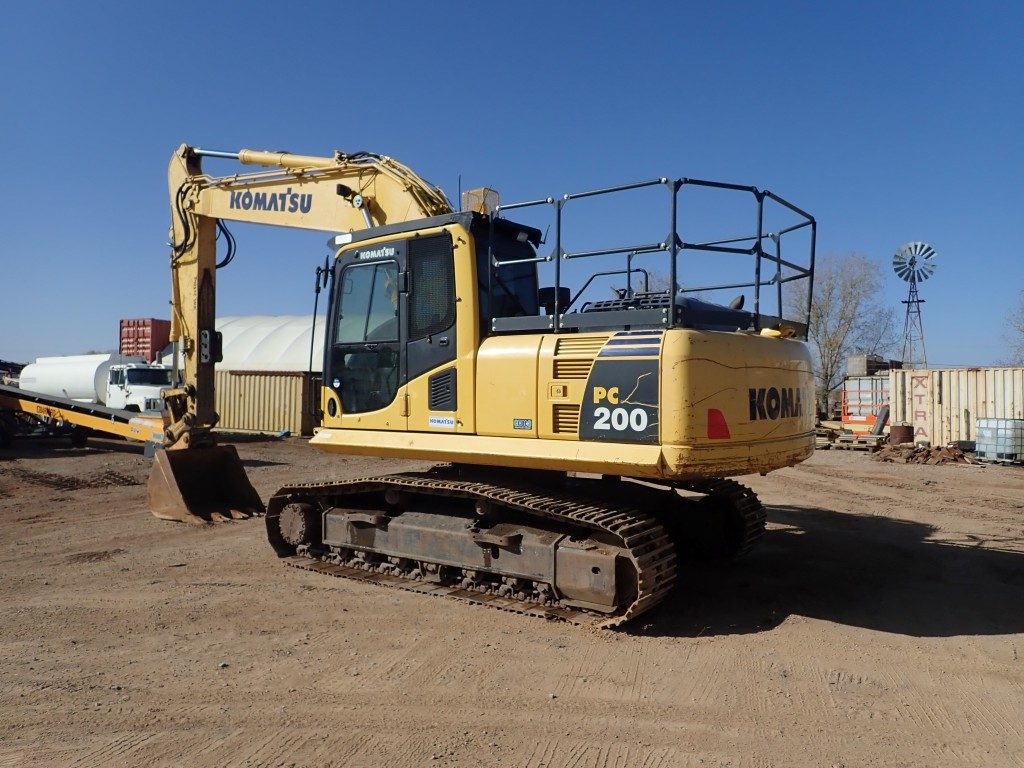 PC200 8 Komatsu Excavator