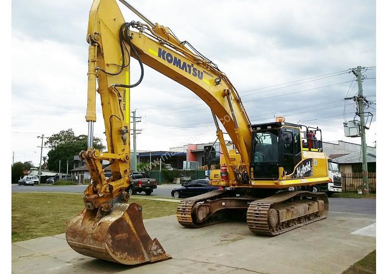 Komatsu HB335LC large excavator