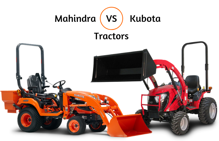 Small Tractors Comparison: Mahindra Vs Kubota