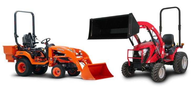 small tractor comparison mahindra kubota
