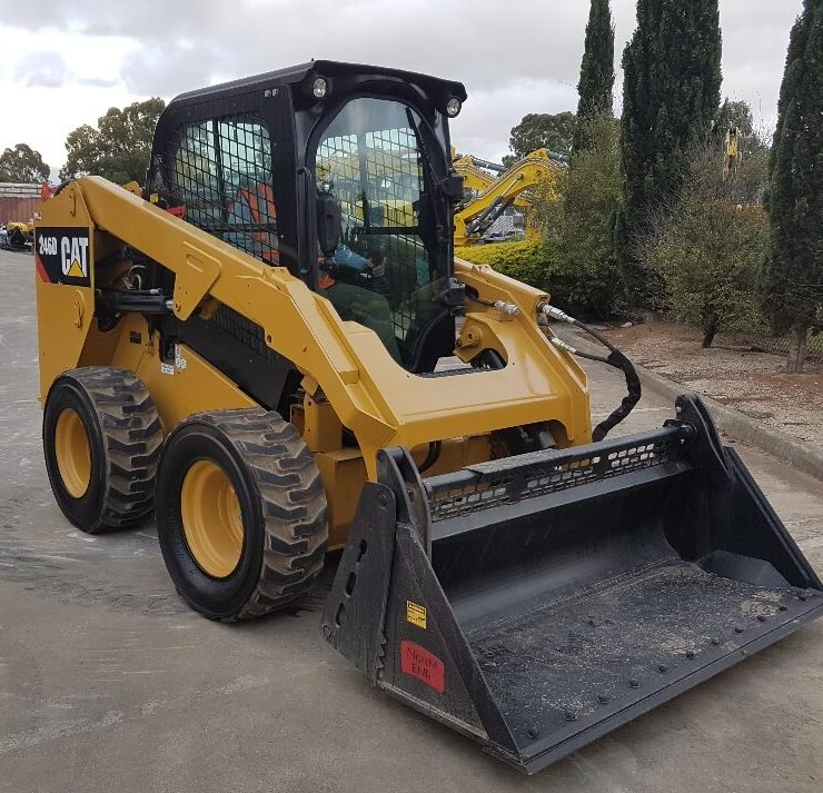 Cat skid steer
