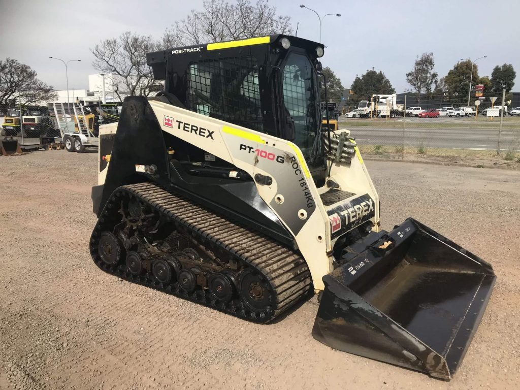 Terex skid steer
