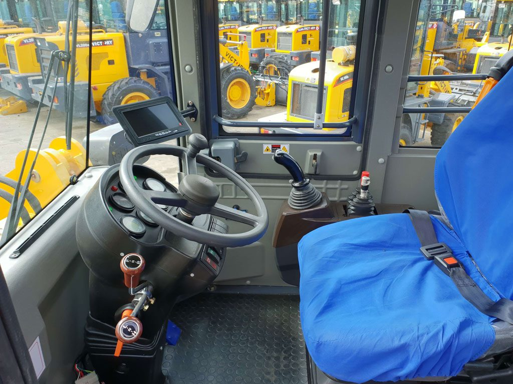 wheel loader cab
