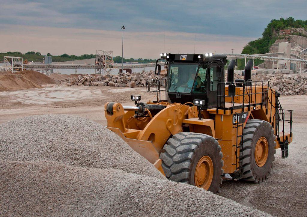 Cat 990k aggregate handler