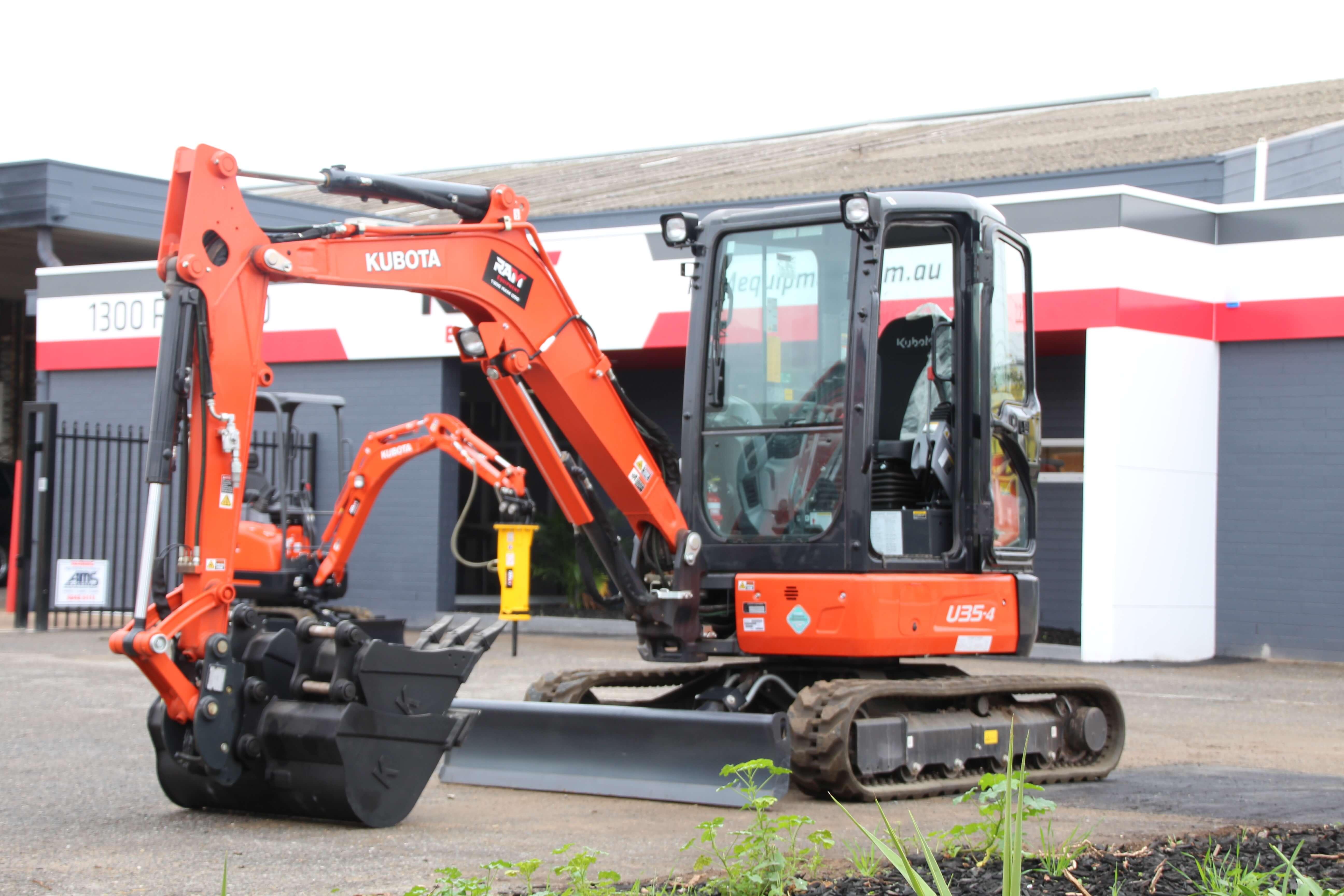 Equipment Focus Kubota U35 4 Excavator