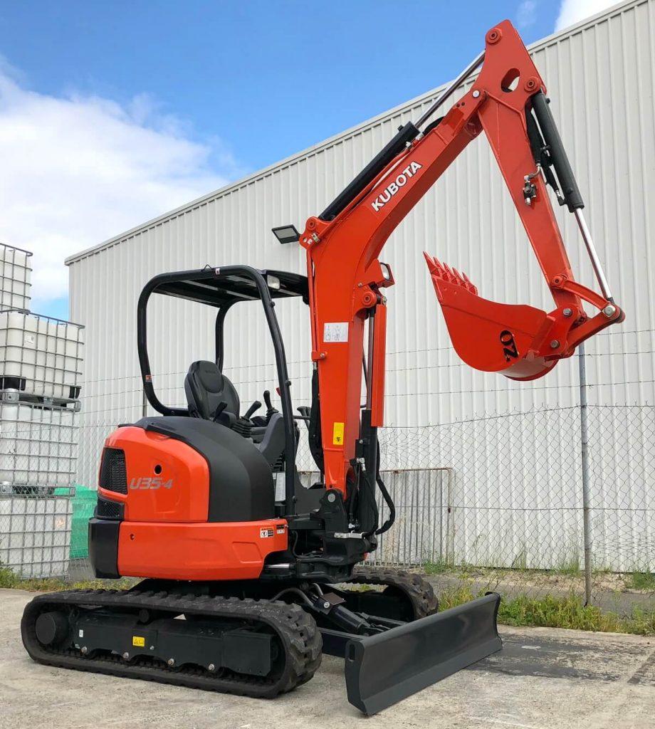 Kubota U35 4 mini excavator
