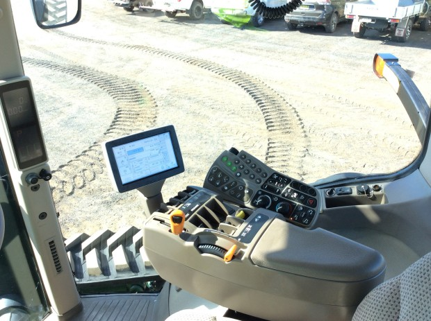 Tracked Tractor technology