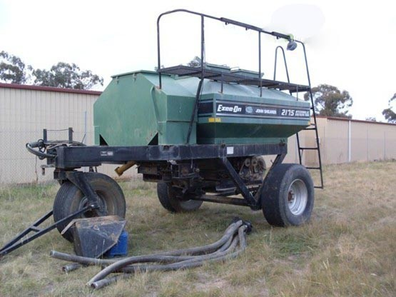 John Shearer seeding equipment