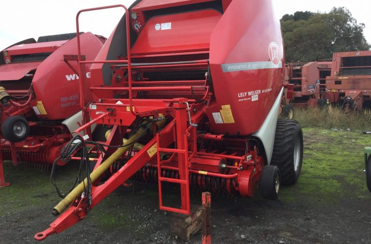 Equipment Focus: Lely RP 535 Hay Round Baler