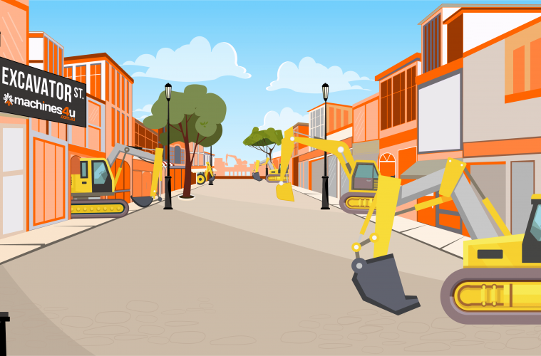 excavator street - where your buyers are looking!