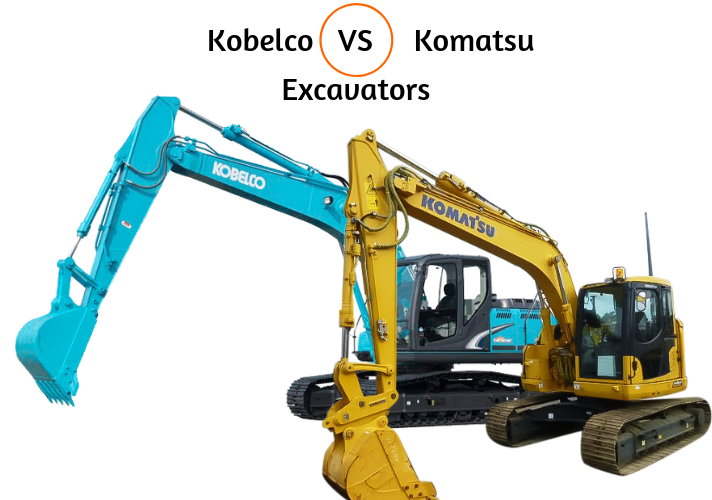 Kobelco Vs Komatsu Excavators - Which is Best?