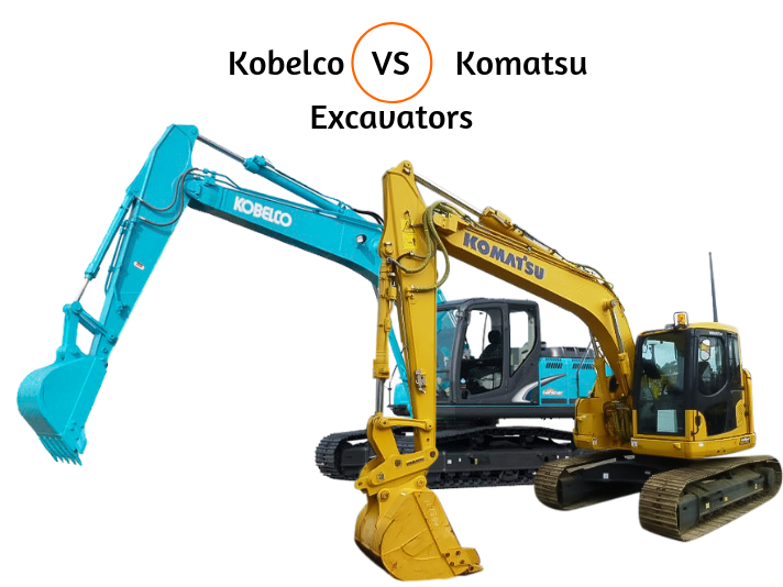 Kobelco Vs Komatsu Excavators Which Is Best