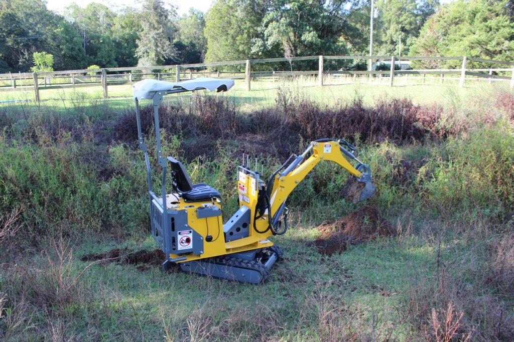 excavator sizes - mini excavator